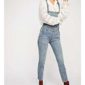 Free People Jeans Overall
